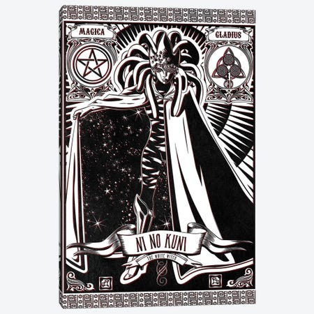 White Witch Canvas Print #BBI110} by Barrett Biggers Canvas Wall Art