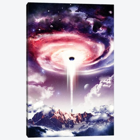 Wormhole Canvas Print #BBI112} by Barrett Biggers Canvas Art