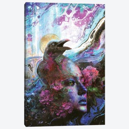Raven Memories Canvas Print #BBI119} by Barrett Biggers Canvas Wall Art