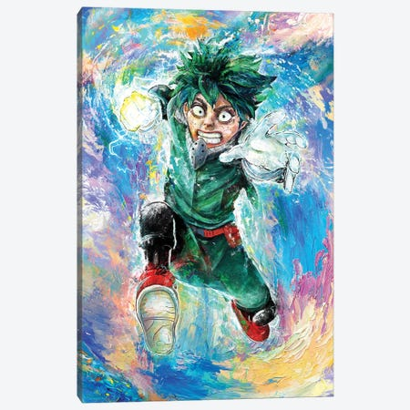 My Impressionist Hero Canvas Print #BBI122} by Barrett Biggers Canvas Art Print