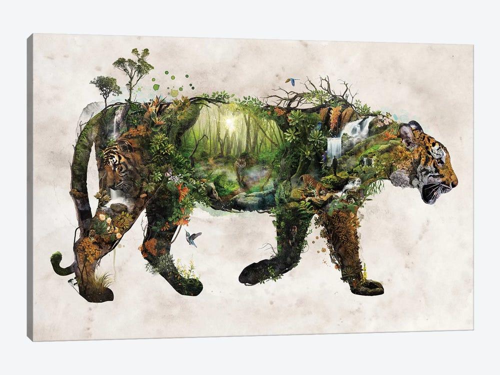 Surreal Tiger by Barrett Biggers 1-piece Canvas Wall Art