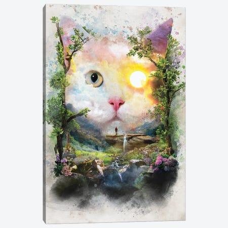 Day Cat Canvas Print #BBI127} by Barrett Biggers Canvas Artwork