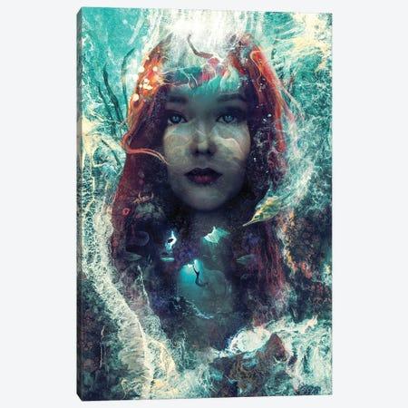 Mermaid Canvas Print #BBI136} by Barrett Biggers Art Print