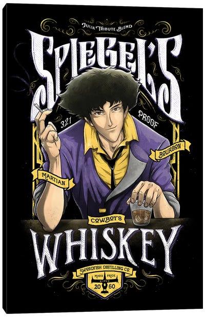 Cowboy Whiskey Canvas Art Print