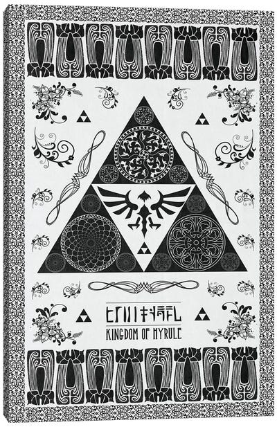Crest Of The Kingdom Canvas Art Print