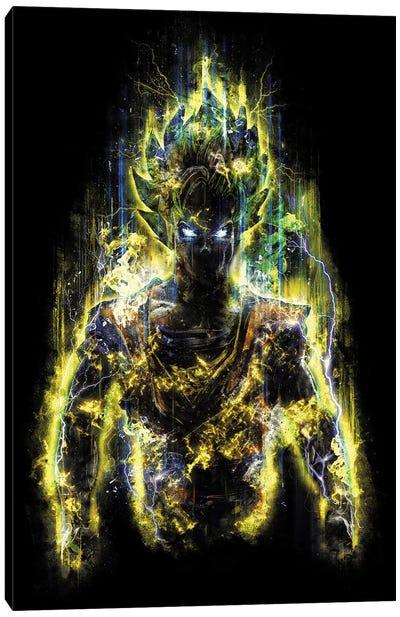 150 Million Power Warrior Canvas Art Print