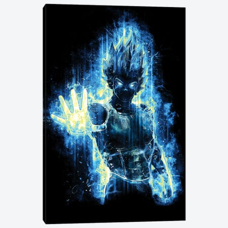 Epic God Prince Warrior Canvas Print #BBI27} by Barrett Biggers Canvas Wall Art