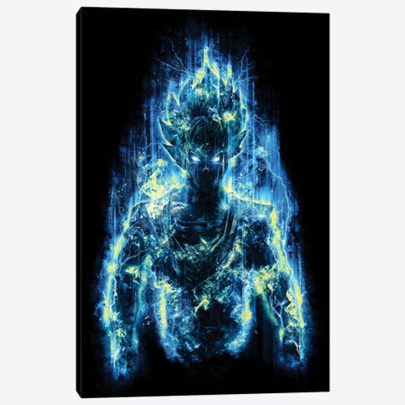 Epic God Warrior Canvas Print #BBI28} by Barrett Biggers Canvas Print