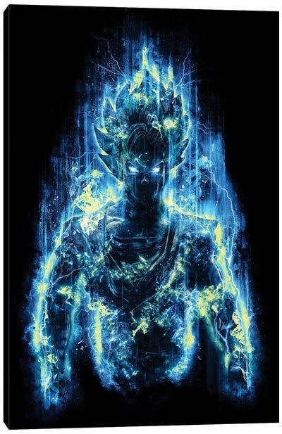 Epic God Warrior Canvas Art Print
