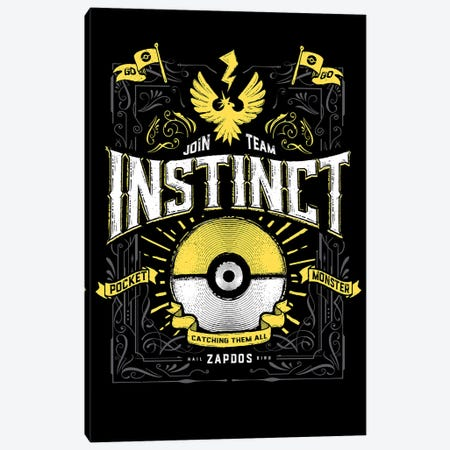 Instinct 3-Piece Canvas #BBI50} by Barrett Biggers Canvas Art