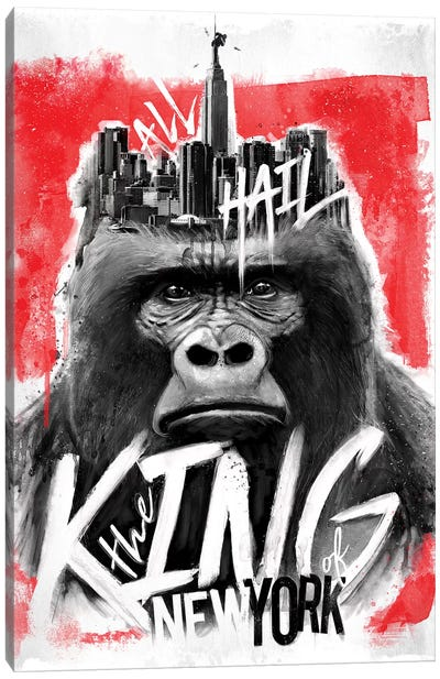 King Of New York Canvas Art Print