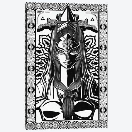 Lady Of Twilight Canvas Print #BBI54} by Barrett Biggers Canvas Art Print