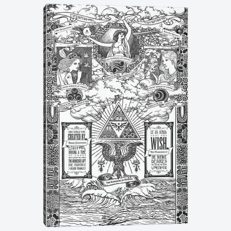 Legend Of The Goddesses Canvas Print #BBI55} by Barrett Biggers Canvas Art Print
