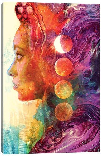 Luna Goddess Canvas Art Print