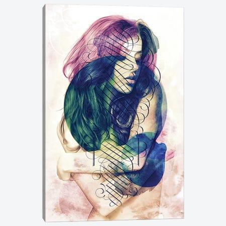 Luxury Lady Canvas Print #BBI60} by Barrett Biggers Canvas Art Print