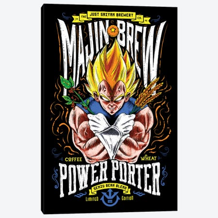 Majin Brew Canvas Print #BBI63} by Barrett Biggers Art Print