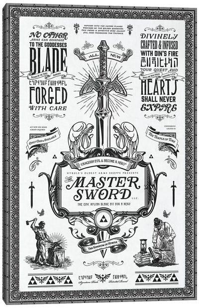Master Of Swords Canvas Art Print
