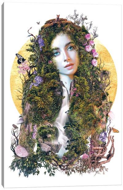 Mother Gaia Canvas Art Print