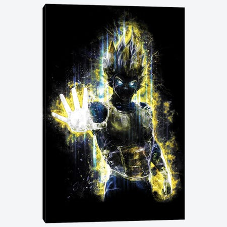 Prince Of Warriors Canvas Print #BBI79} by Barrett Biggers Canvas Art