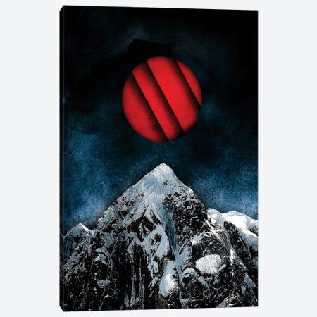 Red Peak Canvas Print #BBI83} by Barrett Biggers Art Print