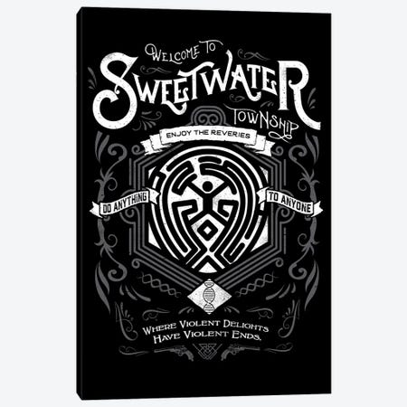 Sweetwater Canvas Print #BBI98} by Barrett Biggers Canvas Artwork