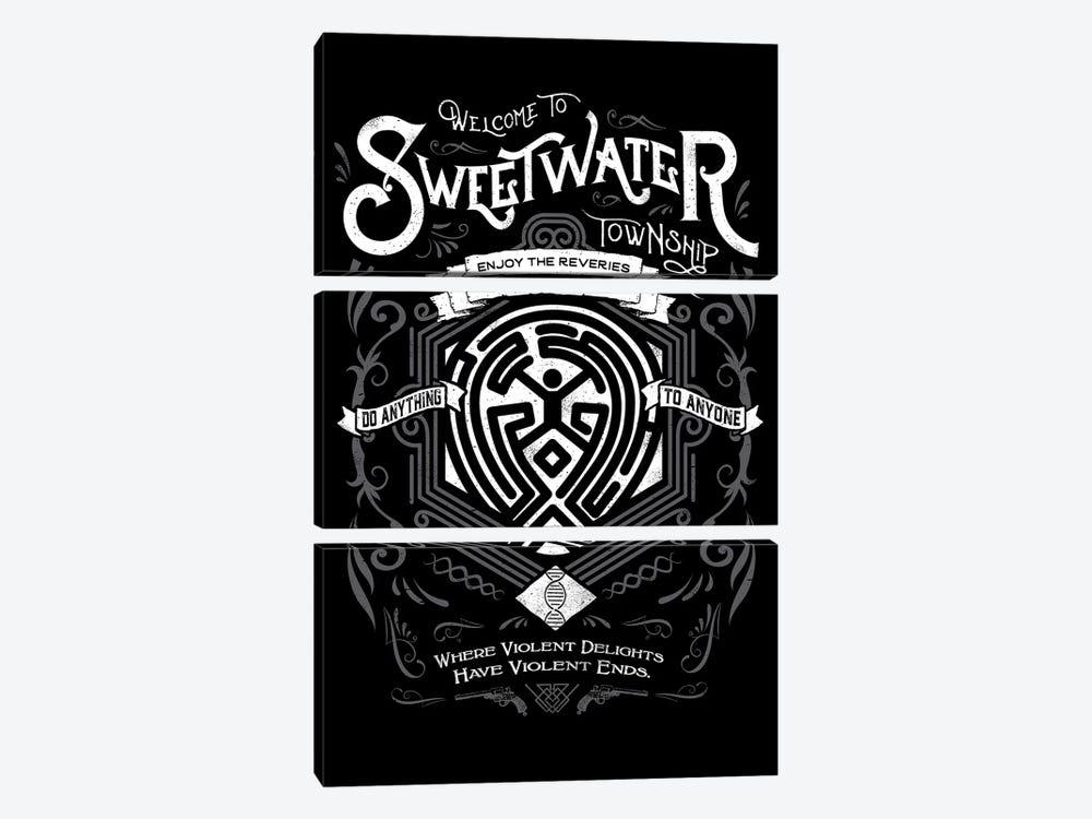 Sweetwater by Barrett Biggers 3-piece Art Print