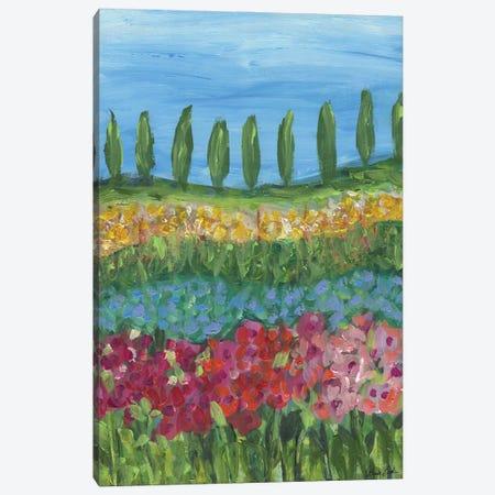Tuscany Days Canvas Print #BBN101} by Brenda Bush Canvas Artwork