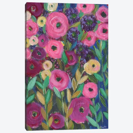 Happy Place Canvas Print #BBN109} by Brenda Bush Canvas Artwork