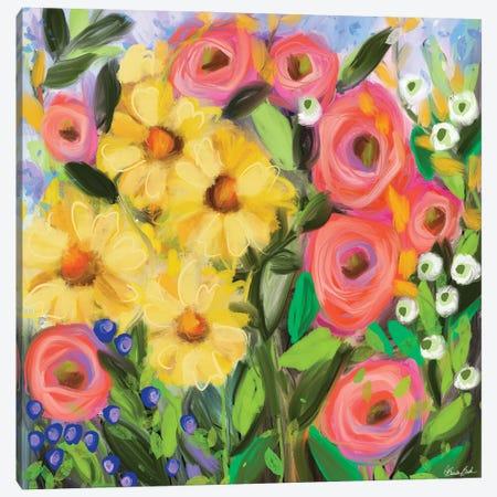 Color My World Canvas Print #BBN112} by Brenda Bush Art Print