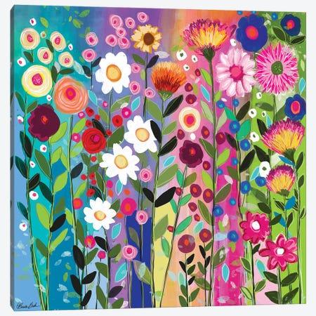 Rainbow Love Canvas Print #BBN114} by Brenda Bush Canvas Artwork