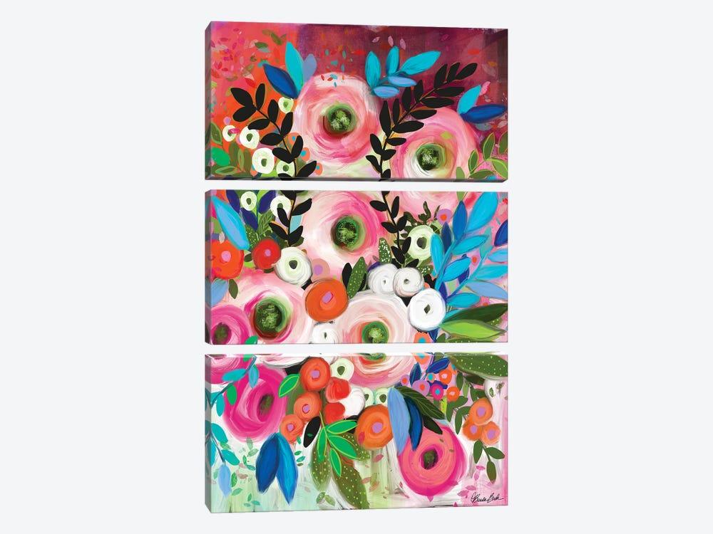 Full Of Possibilities by Brenda Bush 3-piece Canvas Wall Art
