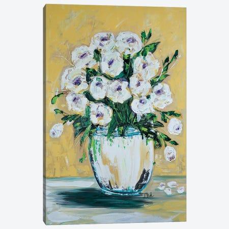 Ocean Song Roses Canvas Print #BBN12} by Brenda Bush Canvas Print