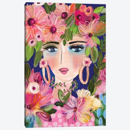 Party In The Garden Canvas Print #BBN131} by Brenda Bush Canvas Print
