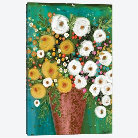 Copper Vase Canvas Print #BBN134} by Brenda Bush Canvas Art