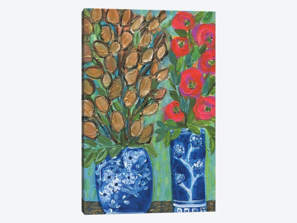 The Gold Blooms by Brenda Bush 1-piece Canvas Art Print