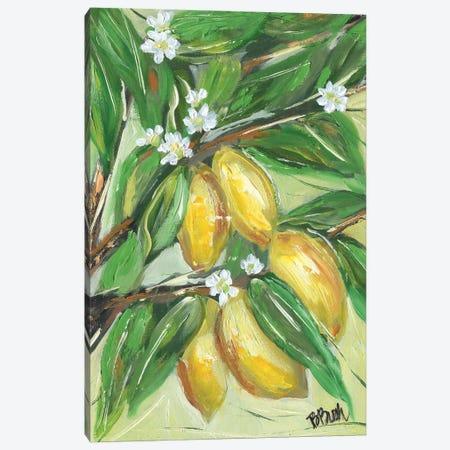 Love Lemons Canvas Print #BBN137} by Brenda Bush Canvas Artwork