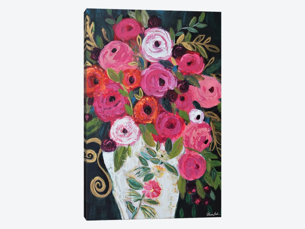 It's All About That Vase by Brenda Bush 1-piece Canvas Print