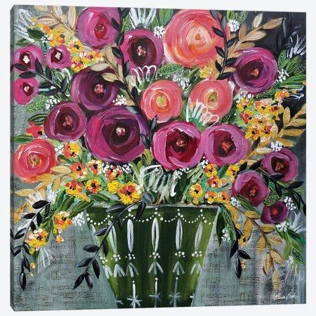 Music Running Through My Mind Canvas Print #BBN168} by Brenda Bush Canvas Art