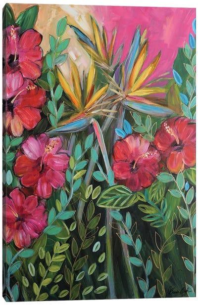 I Wanna Get Tropical Canvas Art Print