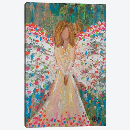 Heaven Is Celebrating Canvas Print #BBN16} by Brenda Bush Canvas Artwork