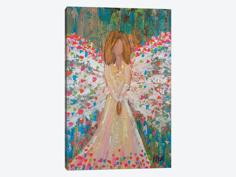 Heaven Is Celebrating by Brenda Bush 1-piece Canvas Wall Art