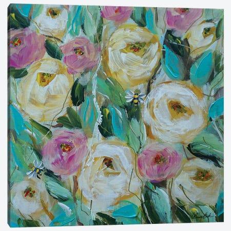 The Queen Bee's Canvas Print #BBN184} by Brenda Bush Canvas Print