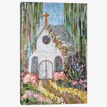 Garden Of Hope Canvas Print #BBN196} by Brenda Bush Canvas Artwork
