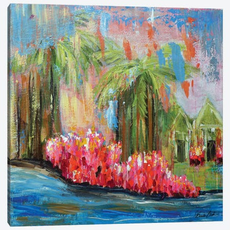 Perfect Paradise Canvas Print #BBN198} by Brenda Bush Canvas Print