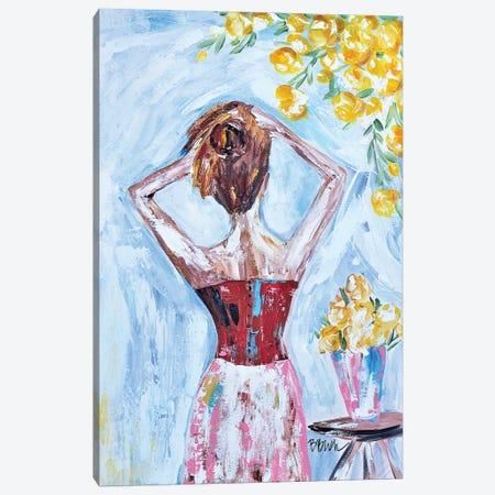 Good Morning Beautiful Canvas Print #BBN19} by Brenda Bush Canvas Art Print