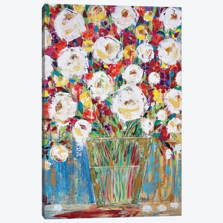 Fresh Bouquet Canvas Print #BBN205} by Brenda Bush Canvas Artwork