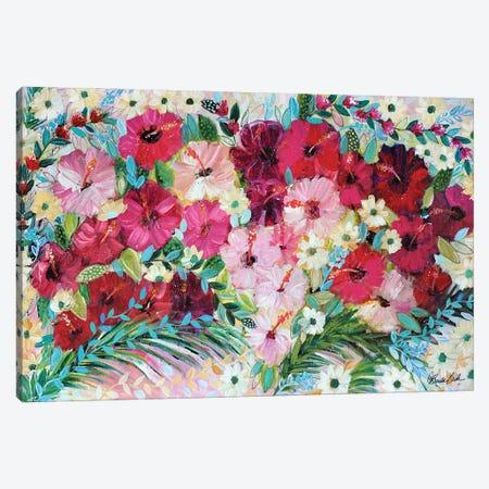 Breathing In The Tropical Air Canvas Print #BBN223} by Brenda Bush Art Print