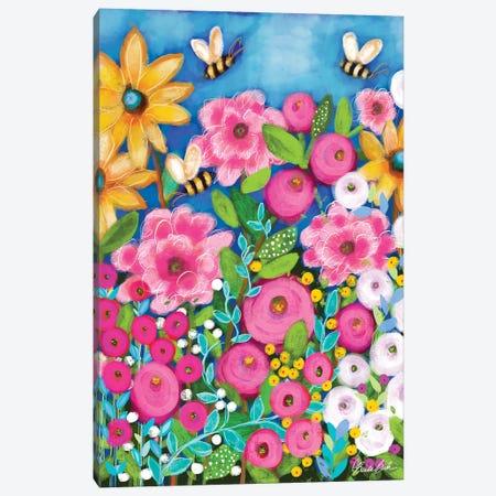 Busy Bee's Canvas Print #BBN248} by Brenda Bush Canvas Print