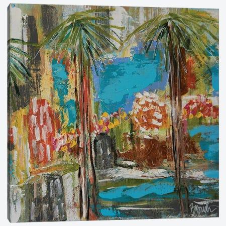 Island In The Sun Canvas Print #BBN24} by Brenda Bush Canvas Art Print