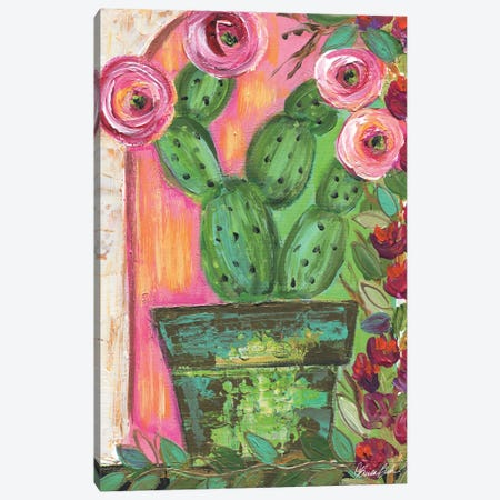 Bougainvillea Canvas Print #BBN252} by Brenda Bush Canvas Artwork